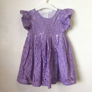 Used once Lace Dress