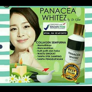 Lotion Panacea White (By Dr Glow)