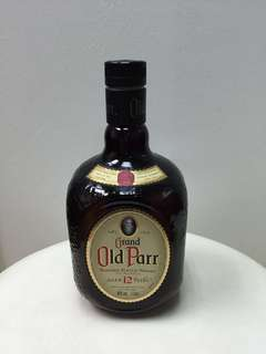 Old parr empty bottle ( fr Jpn )