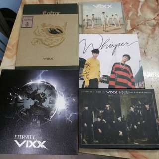 PRELOVED WTS VIXX ALBUM CD