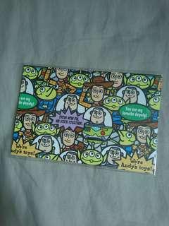 Toys' Story postcard