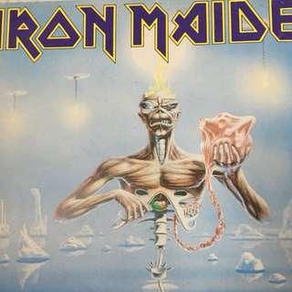 Iron Maiden vinyl record