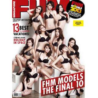 FHM Singapore - June 2013 - FHM Models