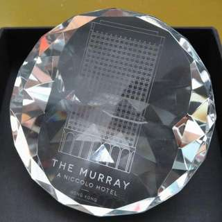 The Murray, Hong Kong, a Niccolo Hotel 水晶 紀念品 ‎souvenir