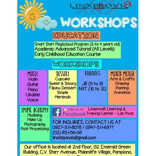 Year Long Workshops