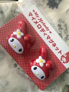 My Melody memo magnet clip