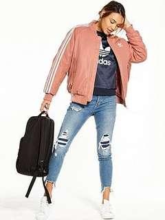 Adidas bomber jacket pink 8