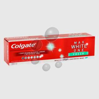 Colgate max white on fresh 牙膏