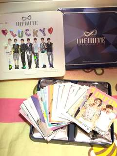 Infinite luckyguys official collection card vol.1