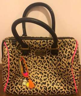paul's Boutique (London) leopard tote bag 100% real