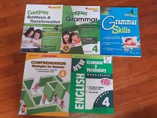 P4 English Assessment Book