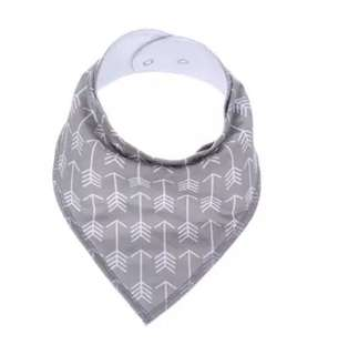 Absorbent Cotton Drool Bib with Designs