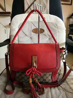 Gucci two way bag
