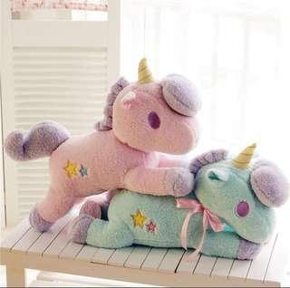 🚚 Unicorn Plush Toys ($8 each) - 1 pair for $12