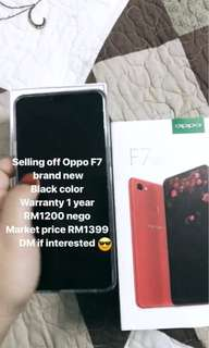 Oppo F7 (Brand New)
