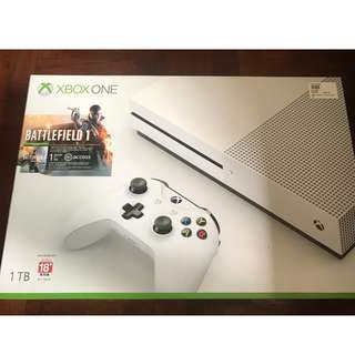 Xbox One S Battlefield 1 Bundle (1TB) Brand New