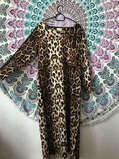 Leapord bodycon dress