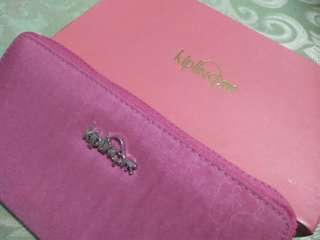 Kiplings Zip Wallet (Pink)