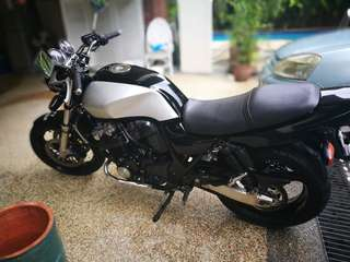 Honda CB 400 a one of machine.
