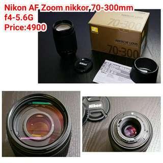 Nikon AF Zoom nikkor 70-300mm f4-5.6G
