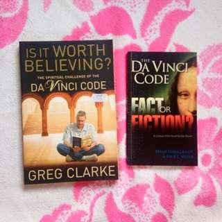 Books on Dan Brown's The Da Vinci Code