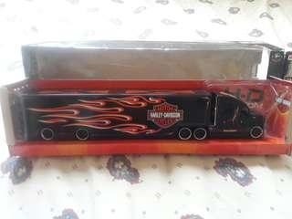 Harley Davidson Hauler Truck (Diecast)
