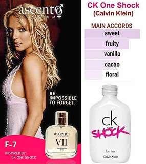 CK One Shock Eau de Parfum for Women 50ml