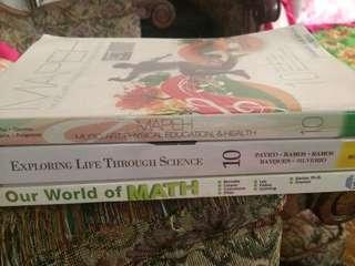 Pre-loved: Grade 10 Books