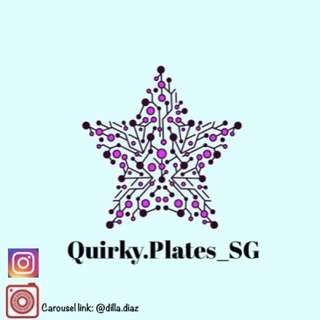QUIRKY_PLATES lovers....  stay tuned to new sale loots to be uploaded!!!