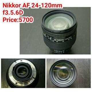 Nikkor AF 24-120mm f3.5.6D