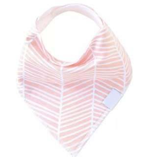 Absorbent Cotton Drool Bib - Girls
