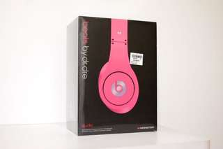 Monster Beats by Dr. Dre Studio 1 Pink (unopened and sealed)