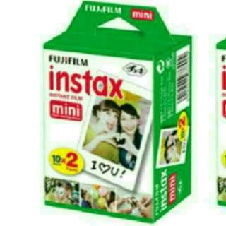 Plain Polaroid Films Twin Pack