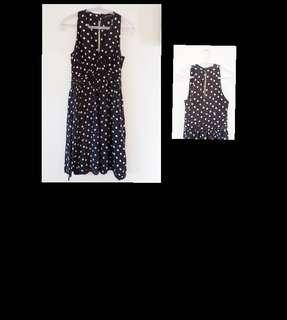 Zara dress polkadot