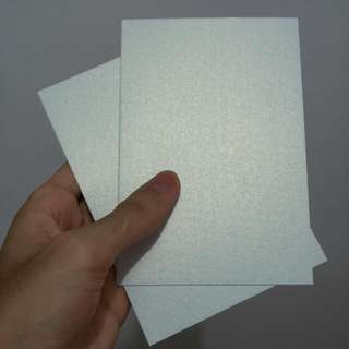Pearlecent White Card For Diy