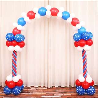 Balloon Arch Welcome Entrance