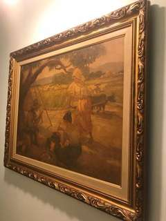 Cooking Under a Mango Tree by Amorsolo
