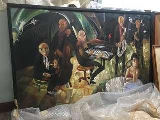 Full Jazz Band by Onib Olmedo