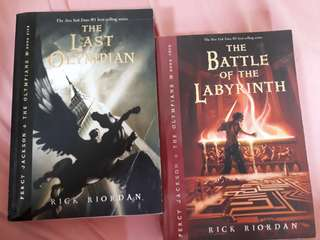 Percy Jackson and the olympians. Book 4 and 5