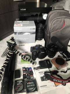 ✅ Canon EOS 80D Bundle