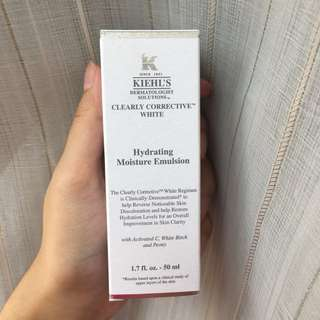 KIEHL'S - Clearly Corrective White Hydrating Moisture Emulsion