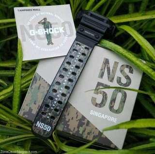 NS50 G-Shock watch