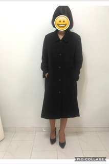 Trench coat/ spring/ autumn