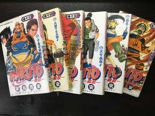 火影忍者Naruto 漫畫卷13 14 15 21 22 26