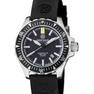 美國Deep Blue watch 潛水氣燈表(LUMINOX/Ball)