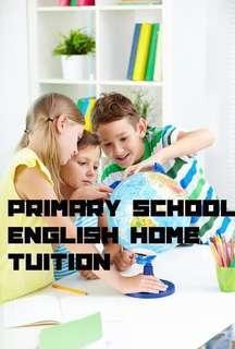 1-1 Primary English Home Tuition near Serangoon