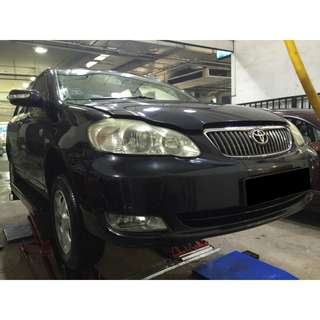 25/05/2018-28/05/2018 TOYOTA ALTIS ONLY $180.00 (P PLATE WELCOME)