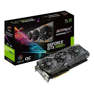 ASUS ROG Strix GeForce® GTX 1080 Ti OC edition 11GB GDDR5X