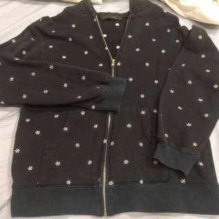 🚚 繡銀色雪花外套#五十元好物