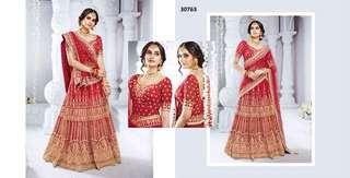 Aspiring Heavy Embroidered Wedding Wear Lehenga Choli